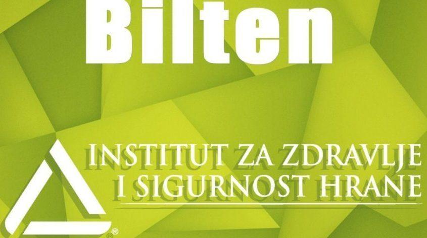 Bilten Službe Za Zdravstvenu Ekologiju I Higijenu – Novembar, 2016.