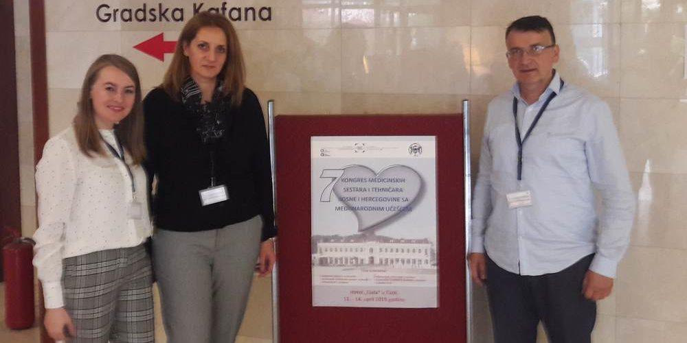 Predstavnici INZ-a Na Kongresu Medicinskih Sestara I Tehničara U Tuzli