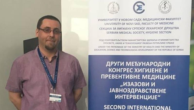 """Predstavnik INZ-a Na Kongresu """"Izazovi I Javnozdravstvene Intervencije"""" U Novom Sadu"""
