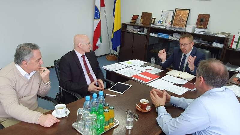 Delegacija INZ-a Razgovarala Sa Ministrom Obrazovanja, Nauke, Kulture I Sporta ZDK
