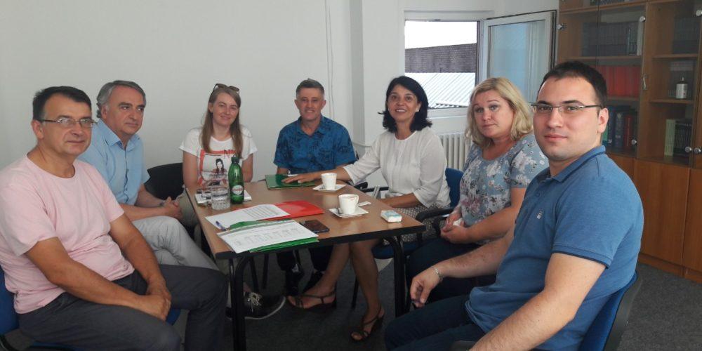 Sa Općinskim Sanitarnim Inspektorima O Unapređenju Stanja U školskim Objektima ZDK