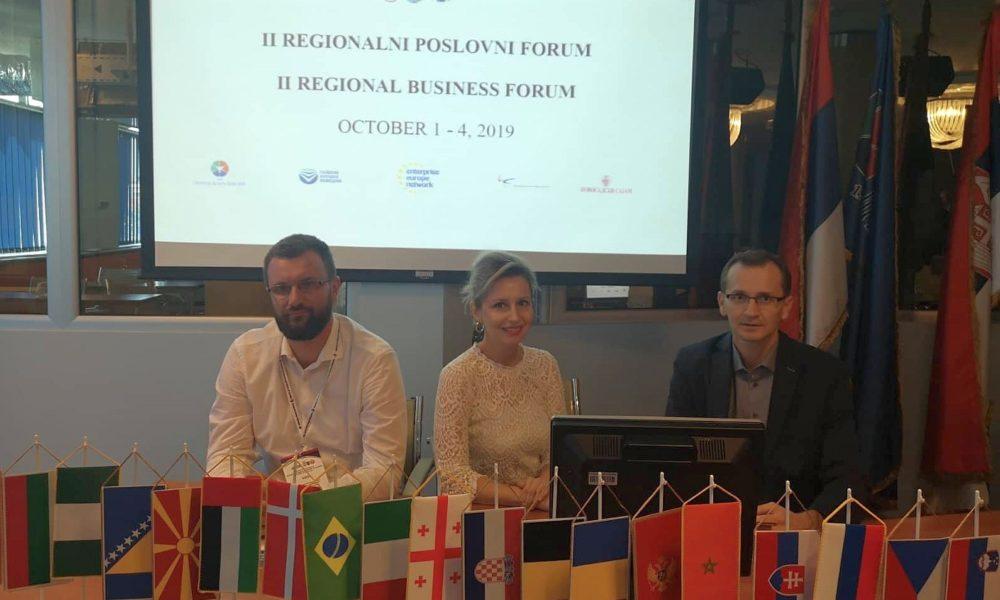 INZ Jedini Iz FBiH Na Drugom Regionalnom Poslovnom Forumu U Novom Sadu