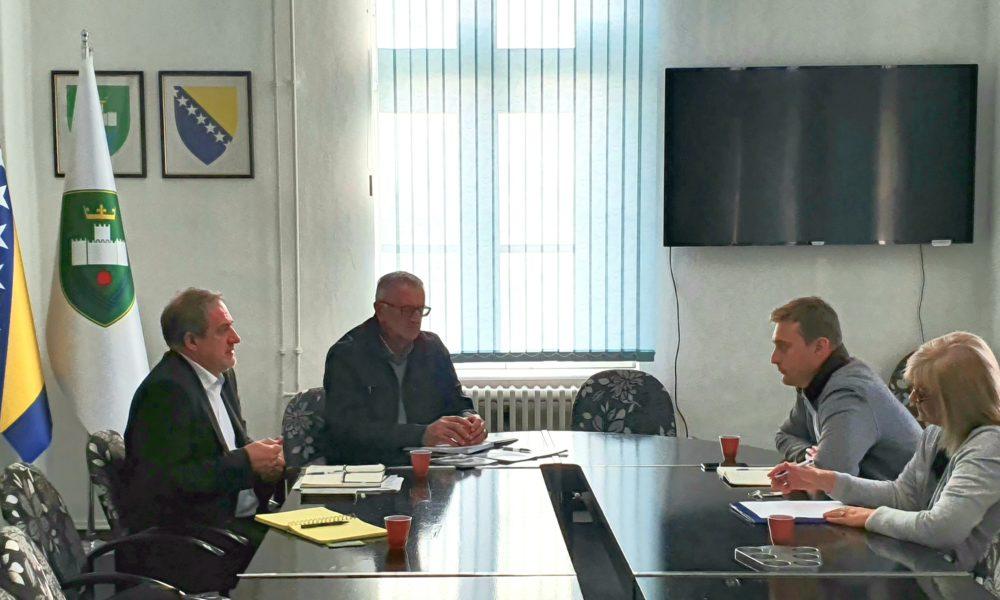 """Predstavnici INZ U Gradskoj Upravi Visoko, Dogovoreno Partnerstvo Na Sajmu """"Jesen U Visokom"""""""