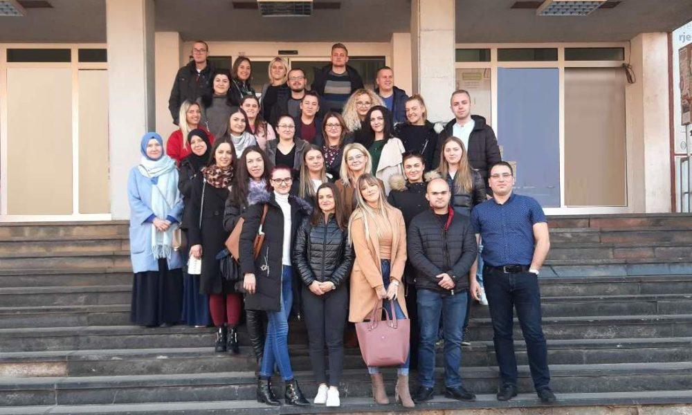 Studenti Medicinskog Fakulteta UNZE U Posjeti INZ-u